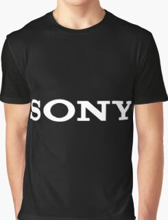 Sony Logo Graphic T-Shirt