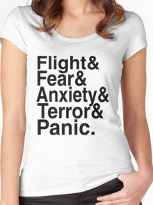 I am Flight - Mr Robot Women's Fitted Scoop T-Shirt