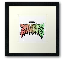 Flatbush Zombies Logo Framed Print