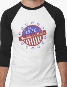 1976 American Made Men's Baseball ¾ T-Shirt