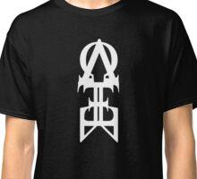 The Meta- White Print Classic T-Shirt
