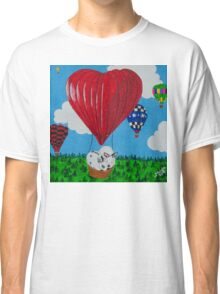 Bunny Anytime Valentines-Design One Classic T-Shirt