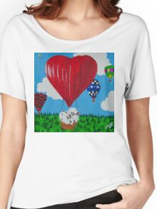 Bunny Anytime Valentines-Design One Women's Relaxed Fit T-Shirt