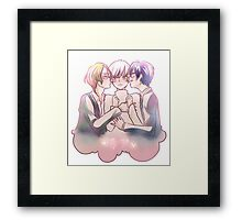 BOUEIBU | And Everyone Was Happy Framed Print