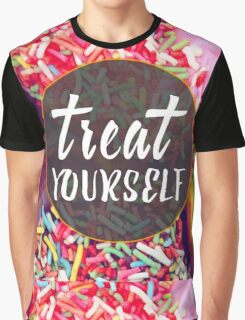 Treat Yourself Graphic T-Shirt
