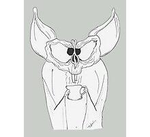 Caffeine Bat Photographic Print