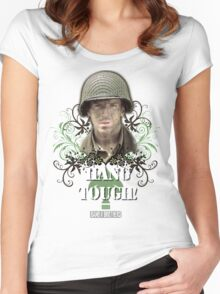 Hang Tough! Women's Fitted Scoop T-Shirt