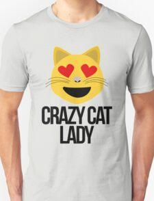 Crazy Cat Lady Emoji Unisex T-Shirt