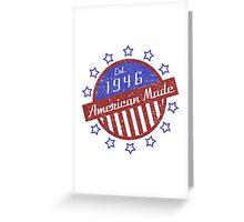 1946 American Made Greeting Card