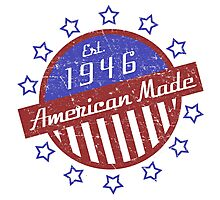1946 American Made Photographic Print