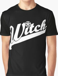 WITCH sport lettering Graphic T-Shirt