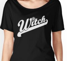 WITCH sport lettering Women's Relaxed Fit T-Shirt