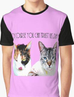 Trust Kitties Graphic T-Shirt