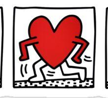 Keith Haring Heart/GDragon tattoo Sticker