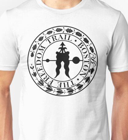 Boston: The Freedom Trail: Black Print Unisex T-Shirt