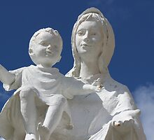 Statue of Mary and Baby by Nicky South