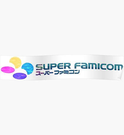 Vaporwave Famicom Poster