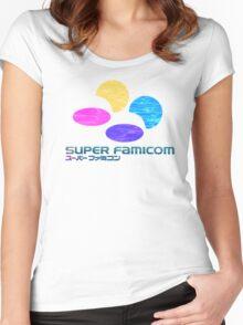 Vaporwave Famicom Women's Fitted Scoop T-Shirt
