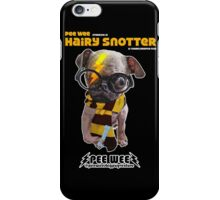 HAIRY SNOTTER PEE WEE iPhone Case/Skin