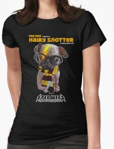 HAIRY SNOTTER PEE WEE Womens Fitted T-Shirt