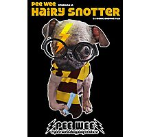 HAIRY SNOTTER PEE WEE Photographic Print