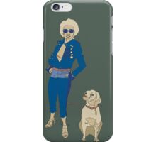 The Lady is a Fox iPhone Case/Skin