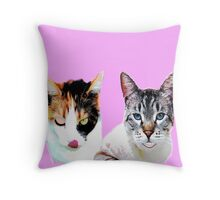Trust Kitties Throw Pillow