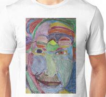 Portrait of Carl Jung: a rainbow of acceptance Unisex T-Shirt