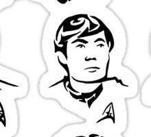 TOS Crew Sticker