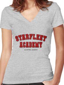 Star Trek - Starfleet Women's Fitted V-Neck T-Shirt