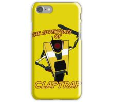 The Adventures of Claptrap iPhone Case/Skin