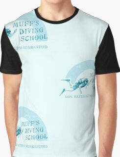 Muff's Diving School Graphic T-Shirt