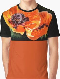 Oriental Poppies family Graphic T-Shirt