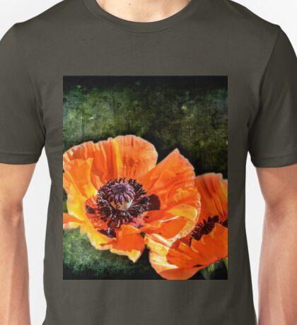 Oriental Poppies family Unisex T-Shirt