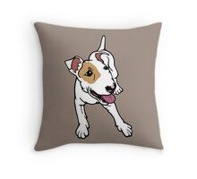 I'm Frank Bull Terrier  Throw Pillow