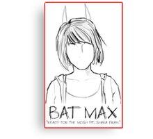 Bat Max Canvas Print