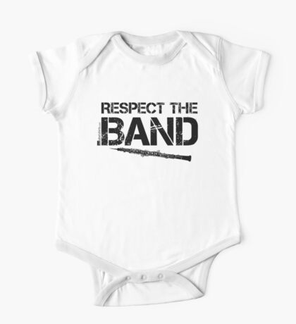 Respect The Band - Oboe (Black Lettering) One Piece - Short Sleeve