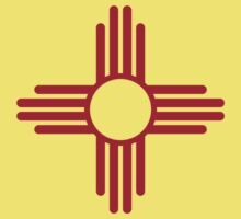 Flag of New Mexico Kids Tee
