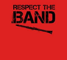 Respect The Band - Clarinet (Black Lettering) Womens Fitted T-Shirt