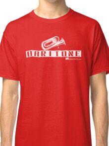 Label Me A Baritone (White Lettering) Classic T-Shirt