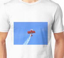 Aerobatics flight. Unisex T-Shirt