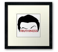 """Colbert - """"Truthiness"""" Framed Print"""
