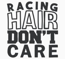 Racing hair don't care One Piece - Short Sleeve