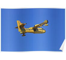Search, rescue and water bomber aircraft. Poster