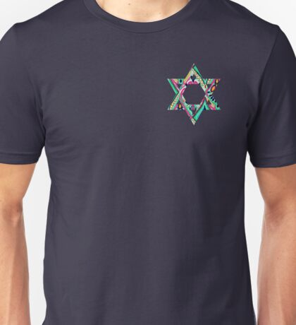 lilly pulitzer jewish star Unisex T-Shirt