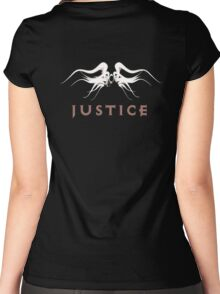 Justice Women's Fitted Scoop T-Shirt