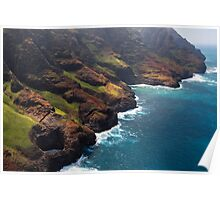 Open Ceiling Sea Cave - Kauai Poster