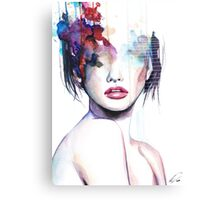 Deconstructed Beauty Canvas Print