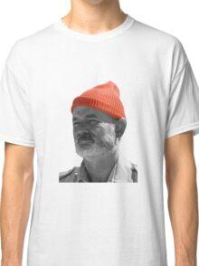 Steve Zissou Red Cap Classic T-Shirt