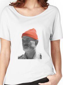 Steve Zissou Red Cap Women's Relaxed Fit T-Shirt
